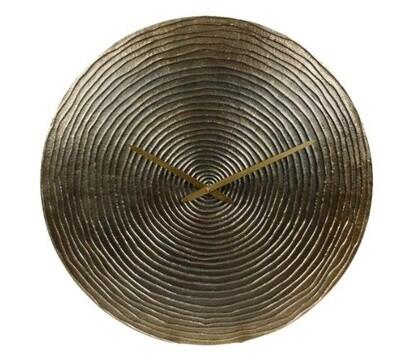 Van Manen Wanduhr Saturn 55,5 cm Aluminium-Gold