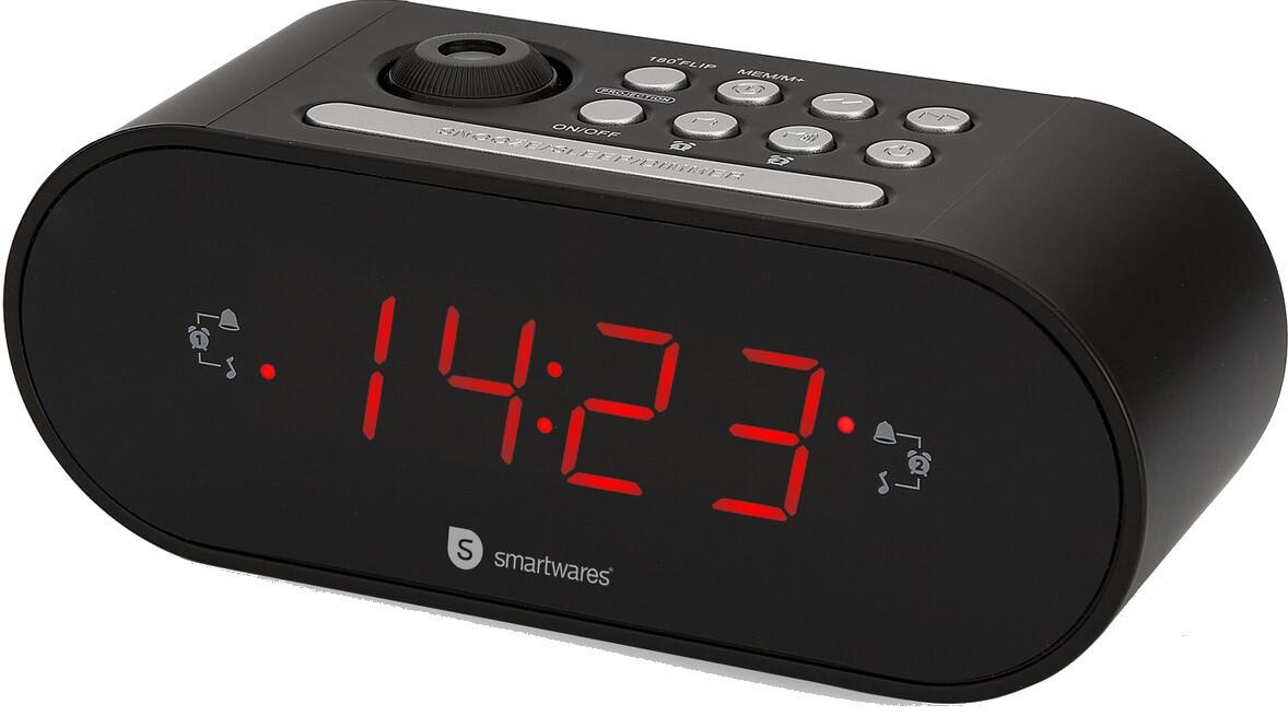 Smartwares Radiowecker Audio Sonic 16 x 8 x 15 cm schwarz