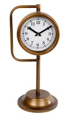 Van Manen Uhr Marjon 42 cm Stahl gold