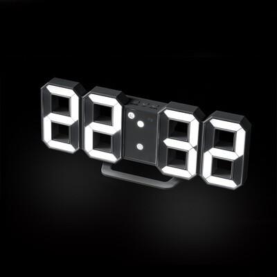 Balvi digitaler Wecker 9 x 21 cm ABS 220V-5V weiss