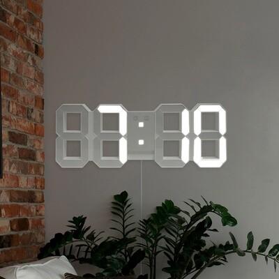 Balvi Wecker Digital 6,4 x 45,1 cm weiß ABS 2-teilig