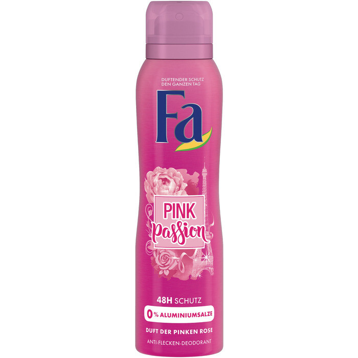 Grosspackung Fa Deospray Pink Passion 6 x 150 ml = 900ml