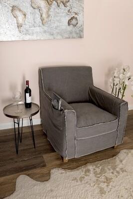 Lodge Lazy Wohnzimmersessel - Vintage Cotton Grey