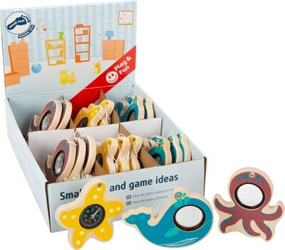 Small Foot Meerestiere- Spielzeug aus Holz, 10cm, 18 Stück