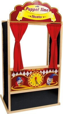 Small Foot Puppen- Theater aus Holz 144 cm