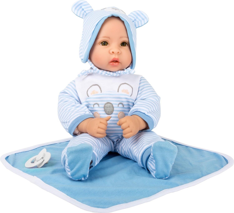 Small Foot Puppe Lukas 40 cm, blau