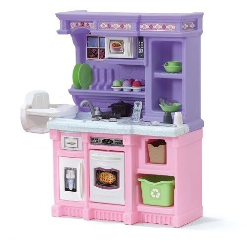 Step2 Kinderküche kleine Bäckerei ,105 cm rosa/lila