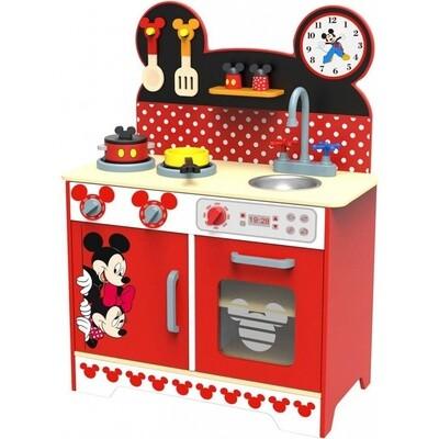 Disney Kinderküche Mickey Mouse 83 cm Holz rot/schwarz