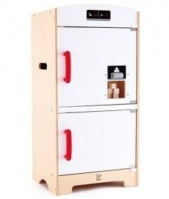 Hape Kühlschrank/Gefrierschrank Kombination Weiß/Natur, 74 cm