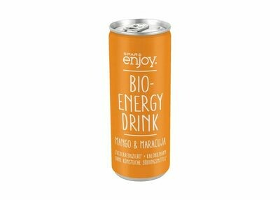 SPAR enjoy Bio-Energy Drink Mango & Maracuja 24 x 250ml = 6 Liter
