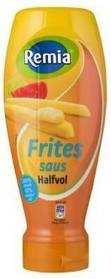 Grosspackung Remia Fritessaus Halfvol (6 x 500 ml) 50% weniger Fett = 3 Liter