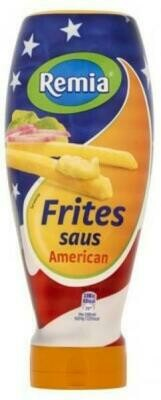 Grosspackung Remia American Fritessaus Classic Pommes Frites Sauce (6 x 500 ml)= 3 Liter