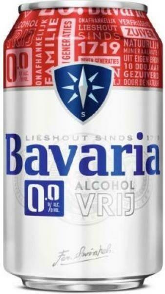 Grosspackung Bavaria Bier Alkoholfrei 0%  24 x 0,33 l = 7,92 Liter