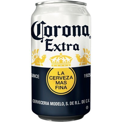 Grosspackung Corona Extra Bier aus Mexiko 24 x 0,33 l = 7,92 Liter