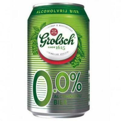 Grosspackung Grolsch Bier Alkoholfrei 0%  24 x 0,33 l = 7,92 Liter