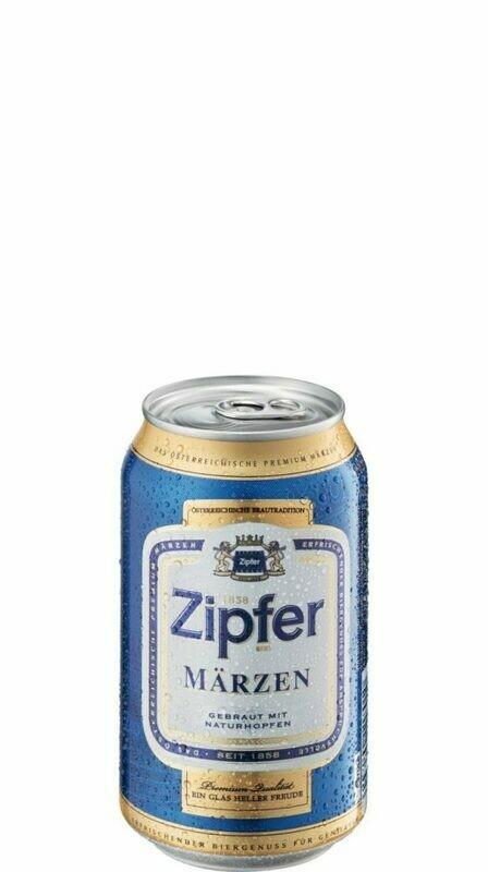 Grosspackung Zipfer Märzen Bier aus Österreich 24 x 0,33 l = 7,92 Liter