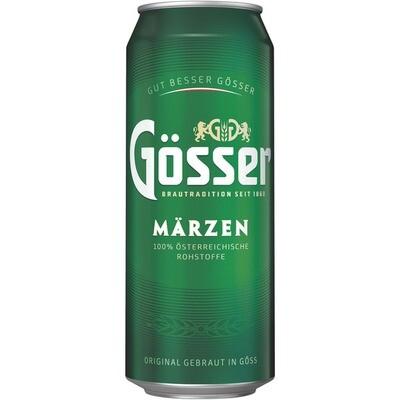 Grosspackung Gösser Märzen Bier 24 x 0,5 l = 12 Liter