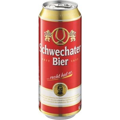 Grosspackung Schwechater Bier aus Österreich 24 x 0,5 l = 12 Liter