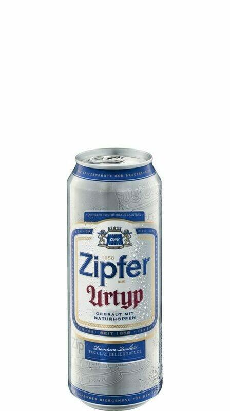 Grosspackung Zipfer Urtyp Bier aus Österreich 24 x 0,5 l = 12 Liter