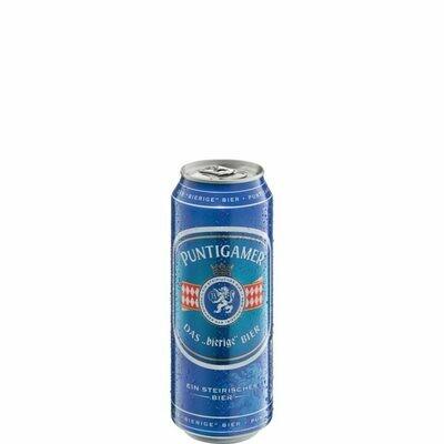 Grosspackung Puntigamer Bier aus Österreich 24 x 0,5 l = 12 Liter