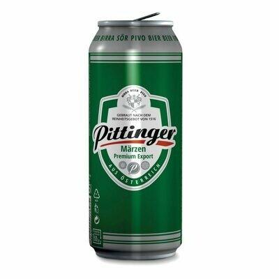 Grosspackung Pittinger Märzen Premium Export Bier aus Österreich 24 x 0,5 l = 12 Liter
