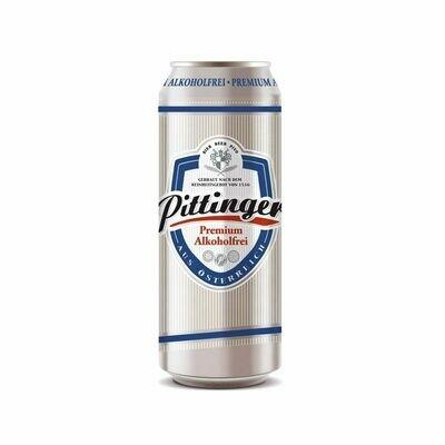 Grosspackung Pittinger Alkoholfreies Bier aus Österreich 24 x 0,5 l = 12 Liter