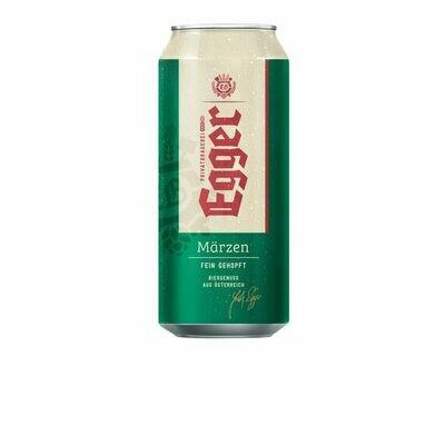 Grosspackung Egger Märzen Bier aus ÖSTERREICH 24 x 0,5 l = 12 Liter