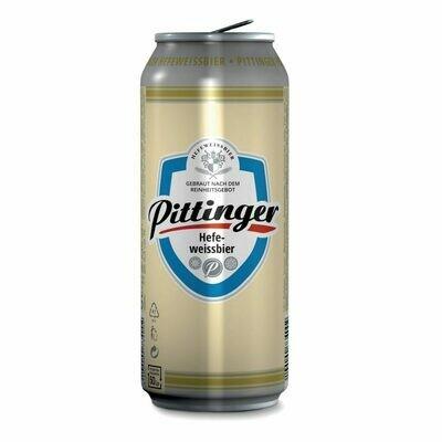 Grosspackung Pittinger Hefeweissbier 24 x 0,5 l = 12 Liter