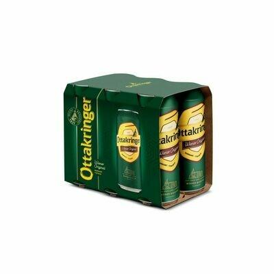 Grosspackung Ottakringer Wiener Original Bier aus Österreich 24 x 0,5l = 12 Liter