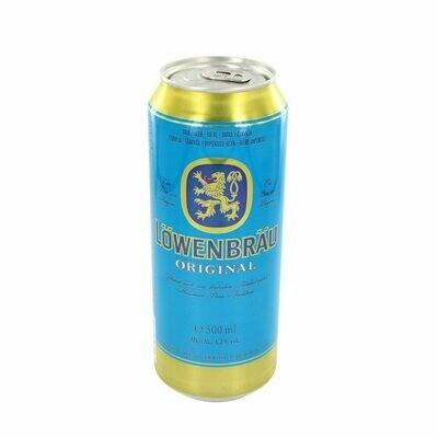Grosspackung Löwenbräu Original Bier 24 x 0,5 l = 12 Liter