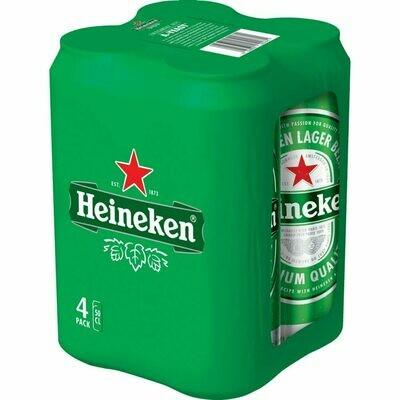Grosspackung Heineken Premium Lager Bier 24 x 0,5 l = 12 Liter