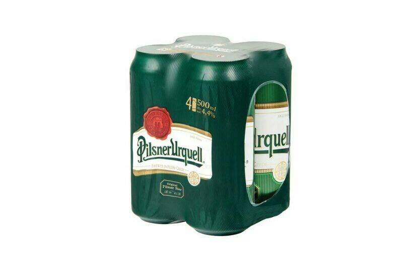 Grosspackung Pilsner Urquell Original Pils Bier 24 x 0,5 l = 12 Liter