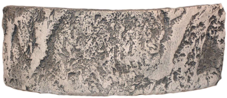 CeramicNature Terrarium Klippe 25 x 11 cm Keramikgrau