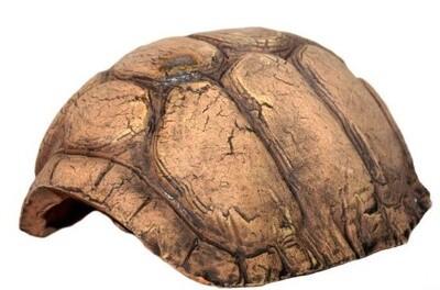 CeramicNature Terrarium Schildkrötenhöhle 14 x 12 cm Keramik braun