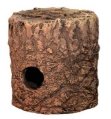 CeramicNature Terrarium Cichlidenhöhle 13 cm Keramik braun