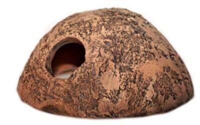 CeramicNature Terrarium Iglu 12 x 7 cm Keramik braun Mark: CeramicNature