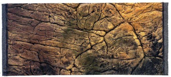 CeramicNature Terrarium Rückwand Thin Slimeline 57,5 cm Mineralharz braun