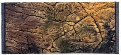 CeramicNature Terrarium Rückwand Thin Slimeline 146 cm Mineralharz braun