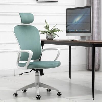 insetto® Bürostuhl Ergonomischer Drehstuhl PC Stuhl höhenverstellbar Samt Türkis