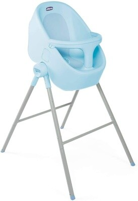 Chicco Baby-Bad Bubble Nest 70 x 99 cm, hellblau, 2-teilig