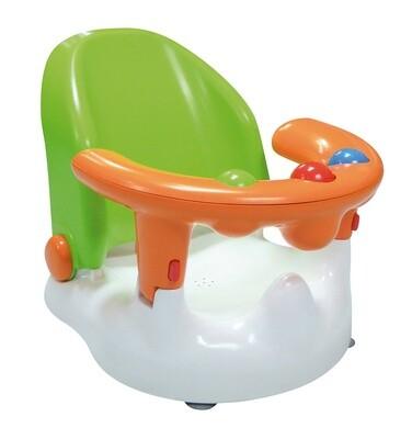 Saro Baby- Badewannensitz grün/orange, 38 cm