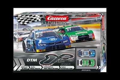 Carrera Spur Evolution 1:32 DTM Ready to Roar 630 cm, schwarz