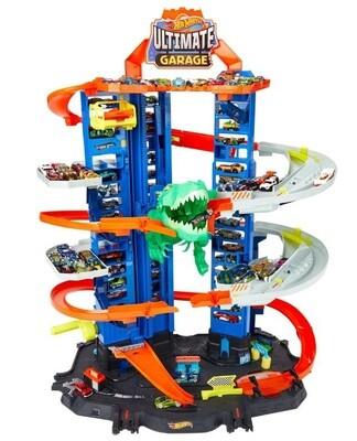 Hot Wheels Spielset Ultimate Garage, 90 cm, 3-teilig