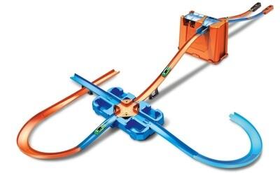 Hot Wheels Startstrecke Track Builder Luxury Stuntset, 7-teilig