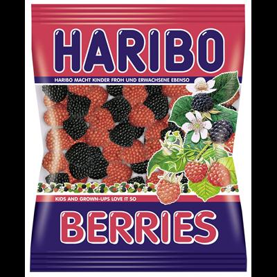 Grosspackung Haribo Berries - 18 x 200 g Beutel = 3,6 kg