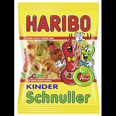Grosspackung Haribo Kinder Schnuller - 18 x 200 g Beutel = 3,6 kg