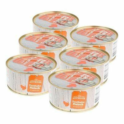 Grosspackung Hofmaier Truthahnfleisch i. e. Saft 300 g, 6er Pack = 1.8 kg