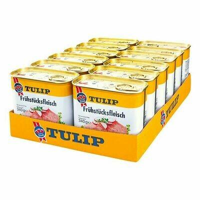 Grosspackung Tulip Frühstücksfleisch 340 g, 12er Pack = 4,08 kg
