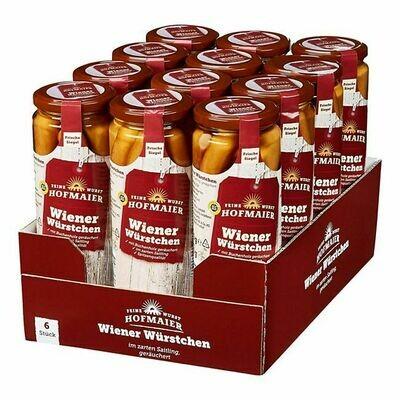 Grosspackung Hofmaier QS Wiener Würstchen / Frankfurter / Wienerli 300 g, 12er Pack = 3,6 kg