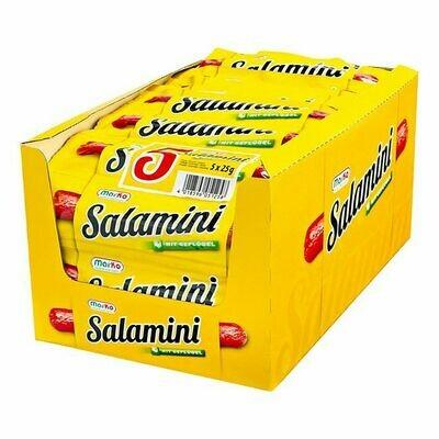 Grosspackung Mar-Ko Salamini Geflügel 5 x 25 g, 20er Pack = 2,5 kg